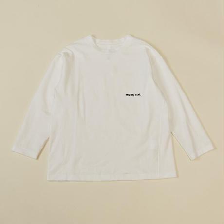 organic cotton logoT / moun.ten(マウンテン)