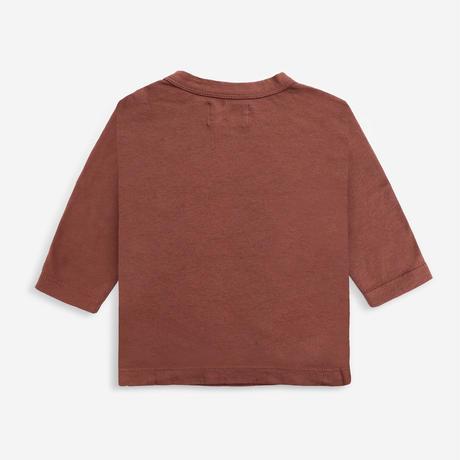 長TシャツFruits long sleeve T-shirt (12-18M/18-24M/24-36M) / bobochoses(ボボショーズ)