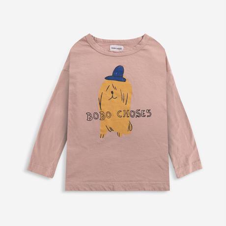 長Tシャツ Dog In A Hat long sleeve T-shirt (4-5Y/6-7Y) / bobochoses(ボボショーズ)