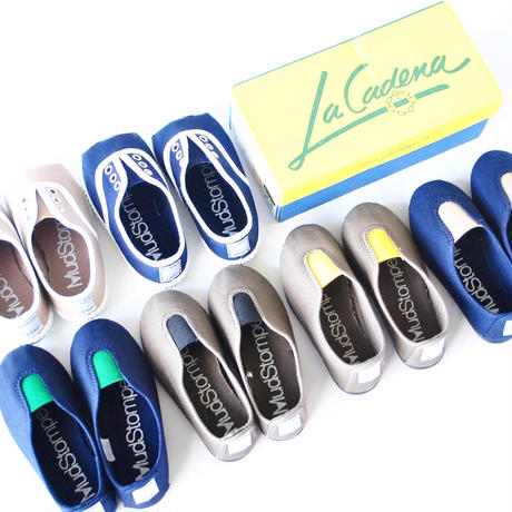 スリッポンGIMNASIA PANEL COLOR SLIP ON / LA CADENA(ラカディナ)
