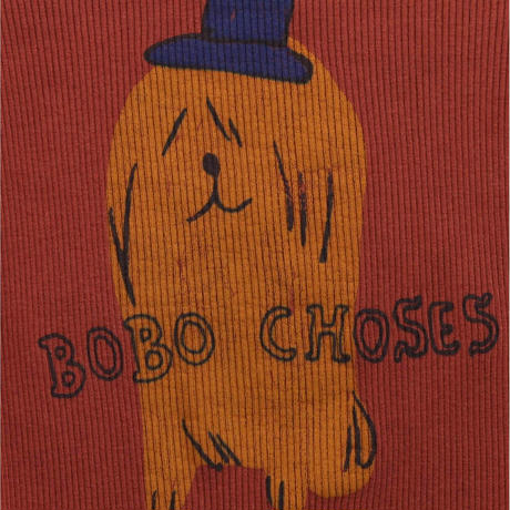 ボディウエア Bobo ChosesDog In The Hat body  (6-12M) / bobochoses(ボボショーズ)