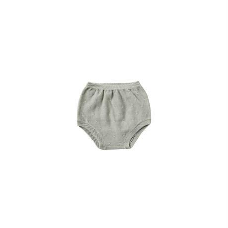 Knit Bloomer sage (12-18M/18-24M/2-3Y) / QuincyMae(クインシーメイ)