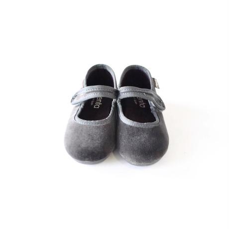 フォーマルストラップ 50007524 grey / velour  / CIENTA(シエンタ)