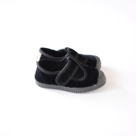 Tストラップ 97707501 black / velour  / CIENTA(シエンタ)