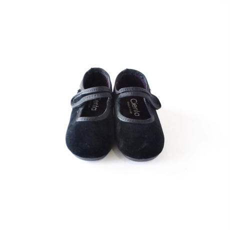 フォーマルストラップ 50007501 black / velour  / CIENTA(シエンタ)