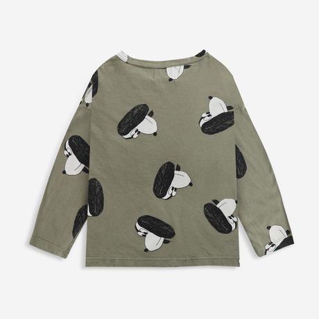 長Tシャツ Doggie All Over long sleeve T-shirt (4-5Y/6-7Y) / bobochoses(ボボショーズ)