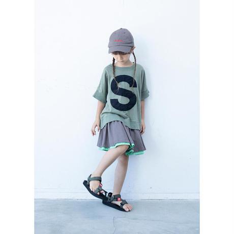 キャピタルレターTシャツ / 6vocale(セスタヴォカーレ)