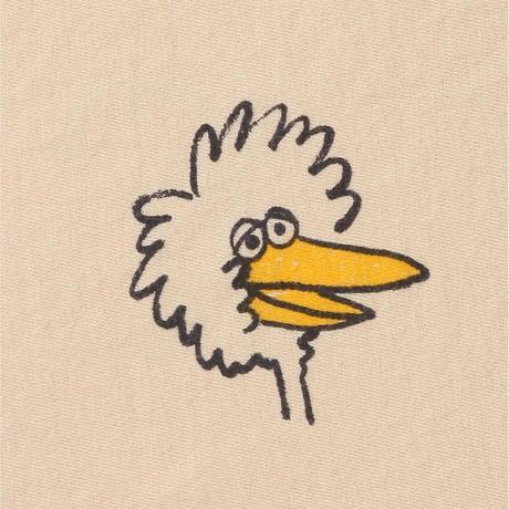 長Tシャツ  Birdie All Over long sleeve T-shirt(2-3Y/4-5Y/6-7Y) / bobochoses(ボボショーズ)