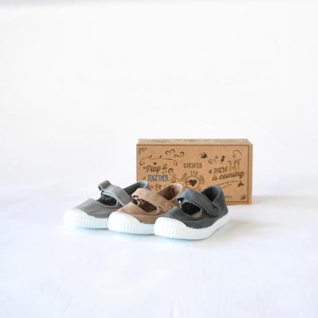 ベルクロワンストラップ grey/dyed  / CIENTA(シエンタ)