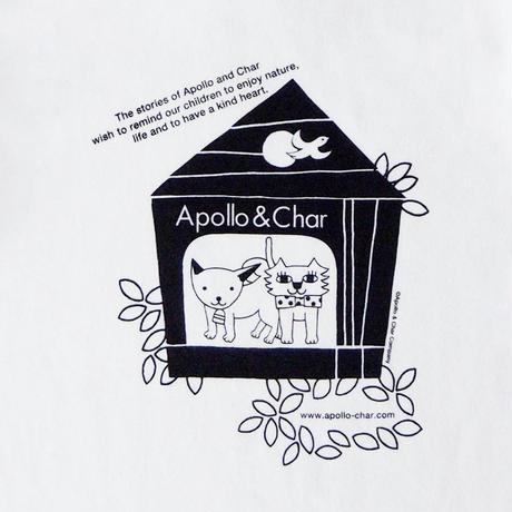 """キッズTシャツ """"Apollo & Char"""""""