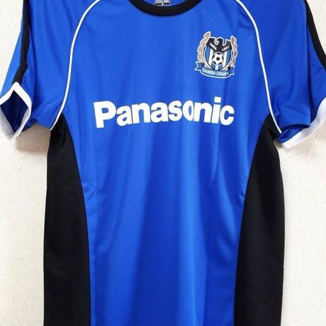 【Jリーグ公式グッズ】ガンバ大阪(背番号なし)大人用 コンフィットTシャツ ブルー