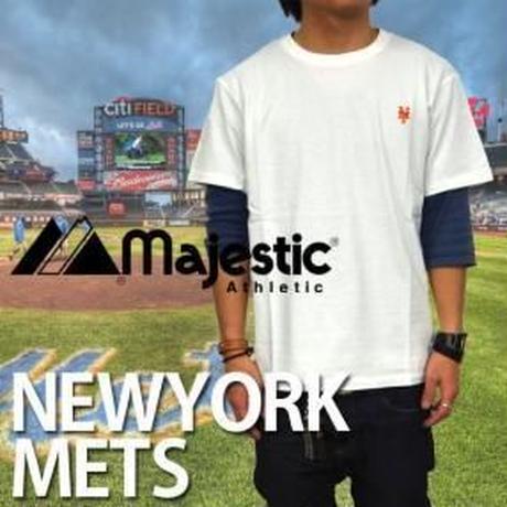 MAJESTIC【メッツ】メジャーリーグ Tシャツ ホワイト M