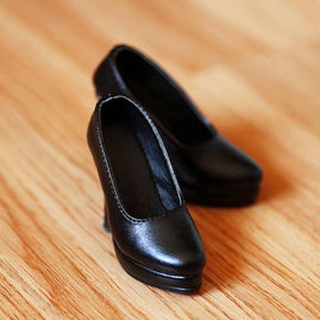 DD,DDS,DDDY,SD ドルフィードリーム靴 シンプルパンプス(ブラック)
