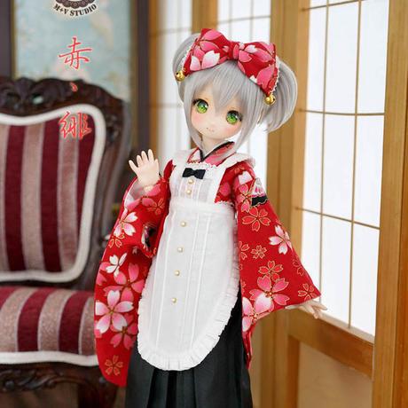 MDD/SDM ミニドルフィードリーム お洋服 和服セット ドール服