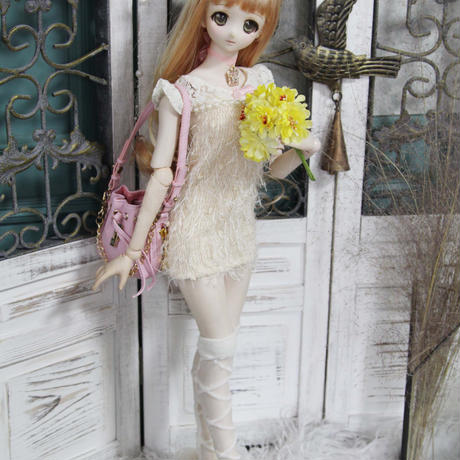 DD衣装 ドルフィードリーム服 モコモコワンピース 帽子セット