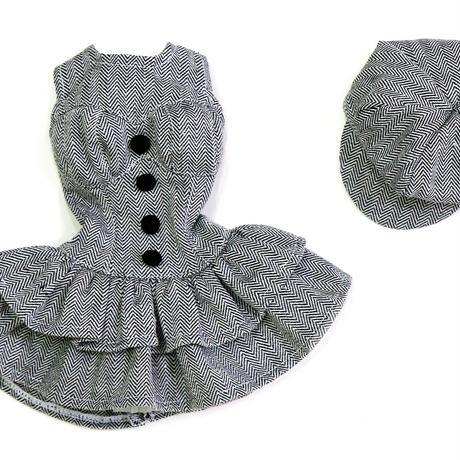 DD,1/3 ドルフィードリーム服 お迎えお洋服 フリルスカート ワンピース