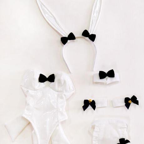 DDドルフィードリーム洋服 ウサギのコスチューム バニーちゃんセット