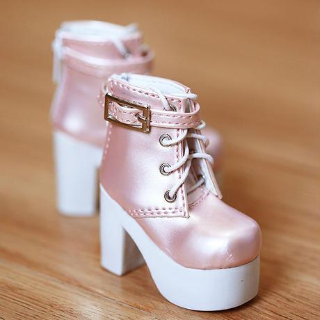 DD,DDS,DDDY,SD ドルフィードリーム 靴 ショートブーツ(ピンク)
