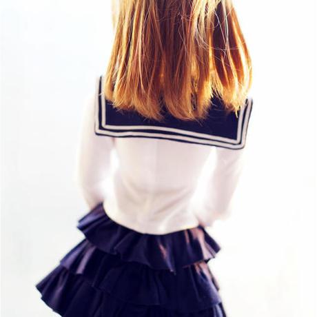 DD,1/3 ドルフィードリーム服 ドール衣装 スカート セーラー服