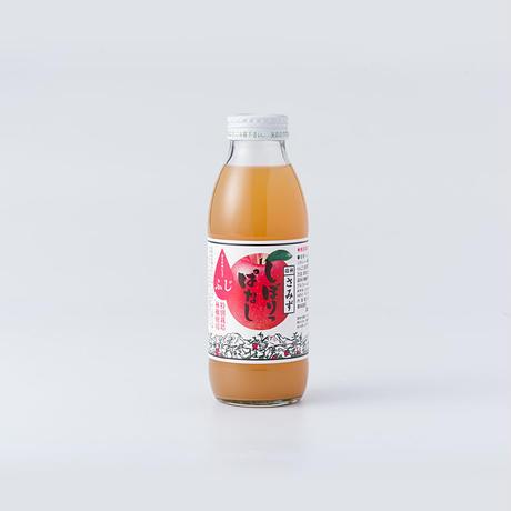 しぼりっぱなしりんごジュース「ふじ」 350ml 6本