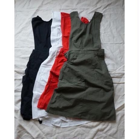 Deadstock Czech military surgical apron dress