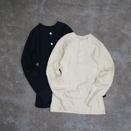 APPRECIATIVE henly neck L/S tee