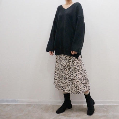 APPRECIATIVE Leopard skirt