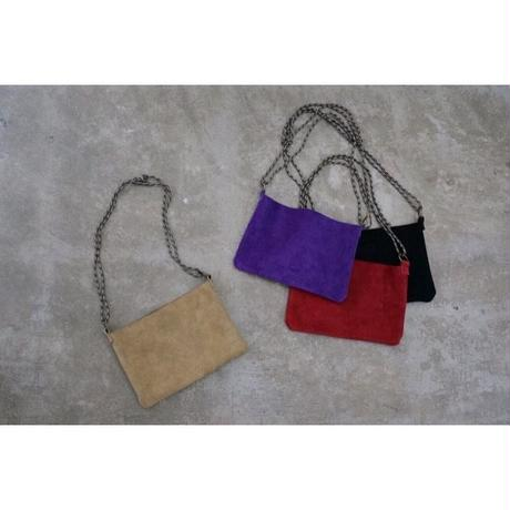 APPRECIATIVE Suede bag