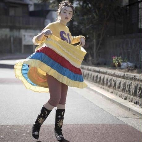【PLAY clothes】50's mexican skirt