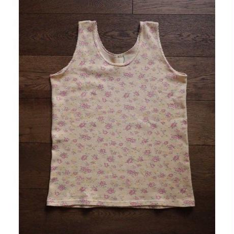 floral cotton sleeveless tops