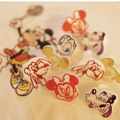 Disney face ring