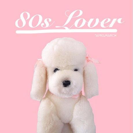 "For ""80s  Lover""  Poodle  plush  PVC  mini sticker"