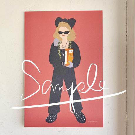 """Susan from """"Desperately Seeking Susan"""" postcard"""