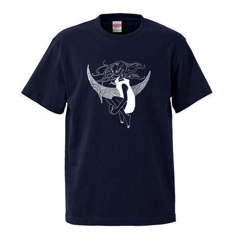 Tシャツ/APSU×むすび「月舟と守人」