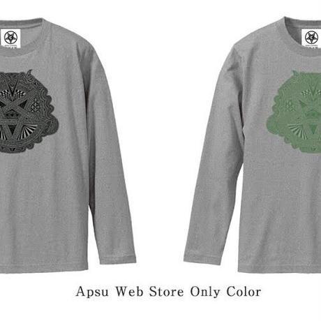 【受注生産】限定カラーロンT/Apsu Shusei × 瀕死衣料CULTNIA  Baphomet Polarity reversal Long sleeve