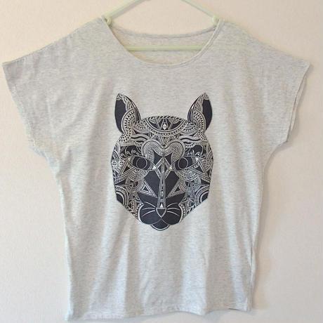 【レディースTシャツ】猫神様
