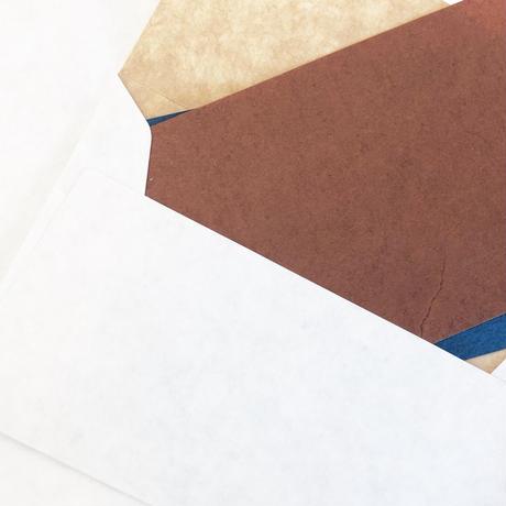 《端紙パック》名刺大カード+封筒