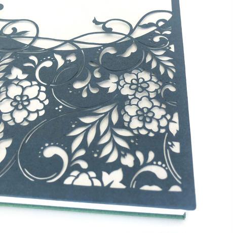 【御朱印帳・中判】伊勢型紙・伝統工芸士の彫ったご朱印帳