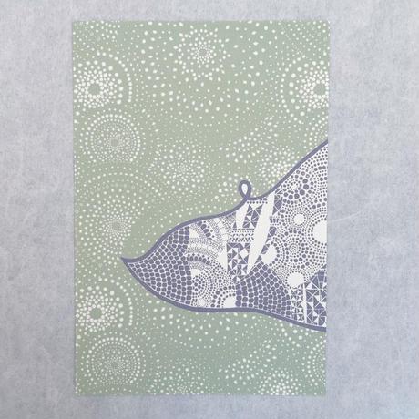 《KOMATSUNA》City Atlasポストカード3枚組