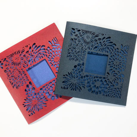 切り絵カード《botanica》