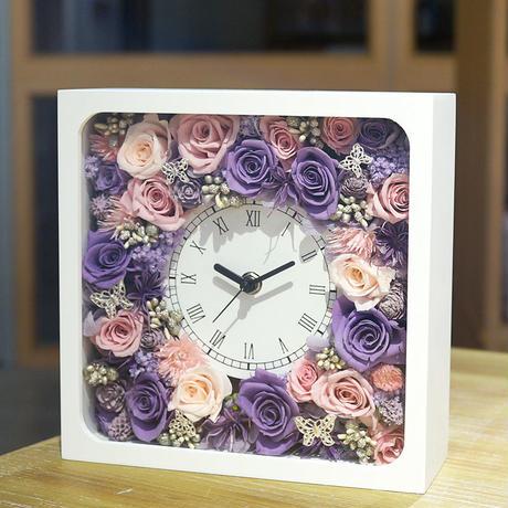 母の日にオススメ★プリザーブドフラワーの花時計