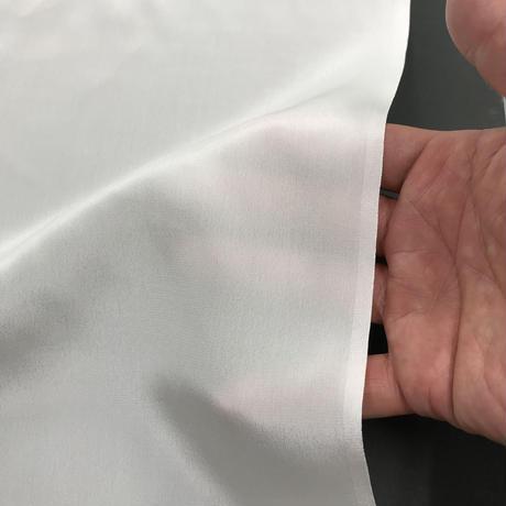 フラットクレープ 16匁【シルク生地】112cm巾×1m シルク100%・日本製・荒井シルク