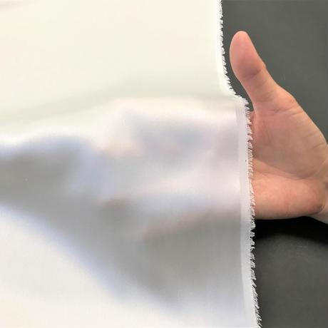 サテンクレープ 20匁【シルク生地】112cm巾×1m シルク100%・荒井シルク