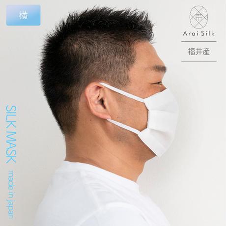 越前和紙抗菌マスクケースセット Lサイズ【軽くて薄い、シルクマスク】  〈シルクシフォン・不織布高密度フィルター・3層・シルク100%・日本製・荒井シルク、越前和紙抗菌加工マスクケ-ス、久兵衛〉
