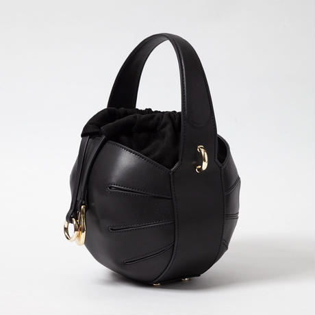 Leather Sphere Bag