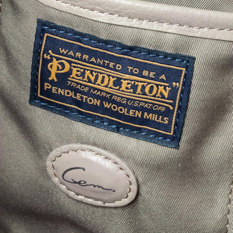 【PENDLETON×Gem.】Limited Purse Bag