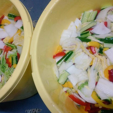 スープマニマニ定番水キムチ 1袋1000㌘