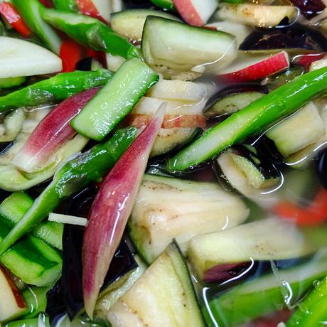水なすと夏野菜の水キムチ1袋 600㌘