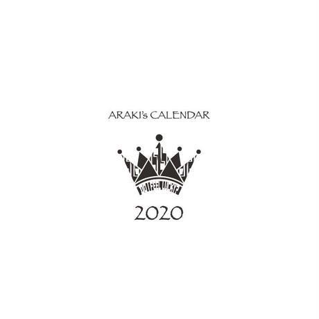 ARAKI  CALENDAR 2020