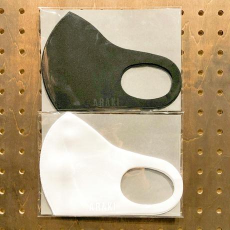 アラキマスク(ホワイト/ブラック)  2枚セット